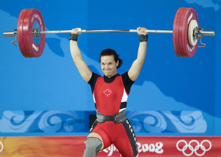 Christine Girard, weightlifter