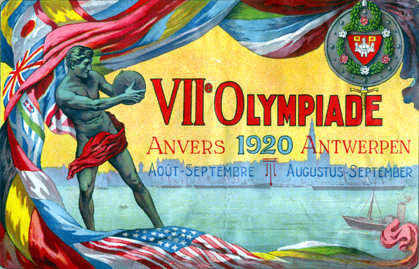 1920 Olympic poster.