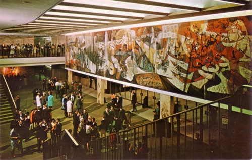 Seven Lively Arts Mural