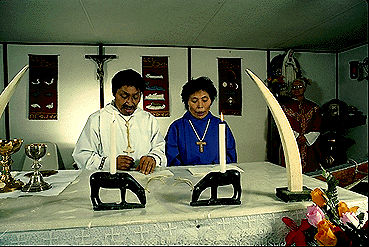 Messe catholique \u00e0 Igloolik