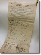 1893 Petition by Woman\u2019s Christian Temperance Union