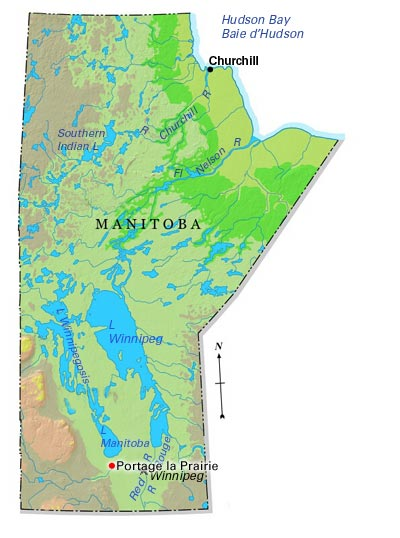 Map Of Portage La Prairie Manitoba Canada Portage la Prairie | The Canadian Encyclopedia