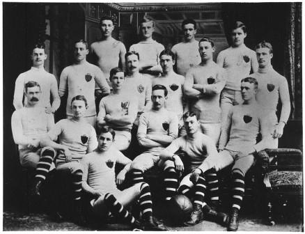 James Naismith, McGill Rugby Football Team