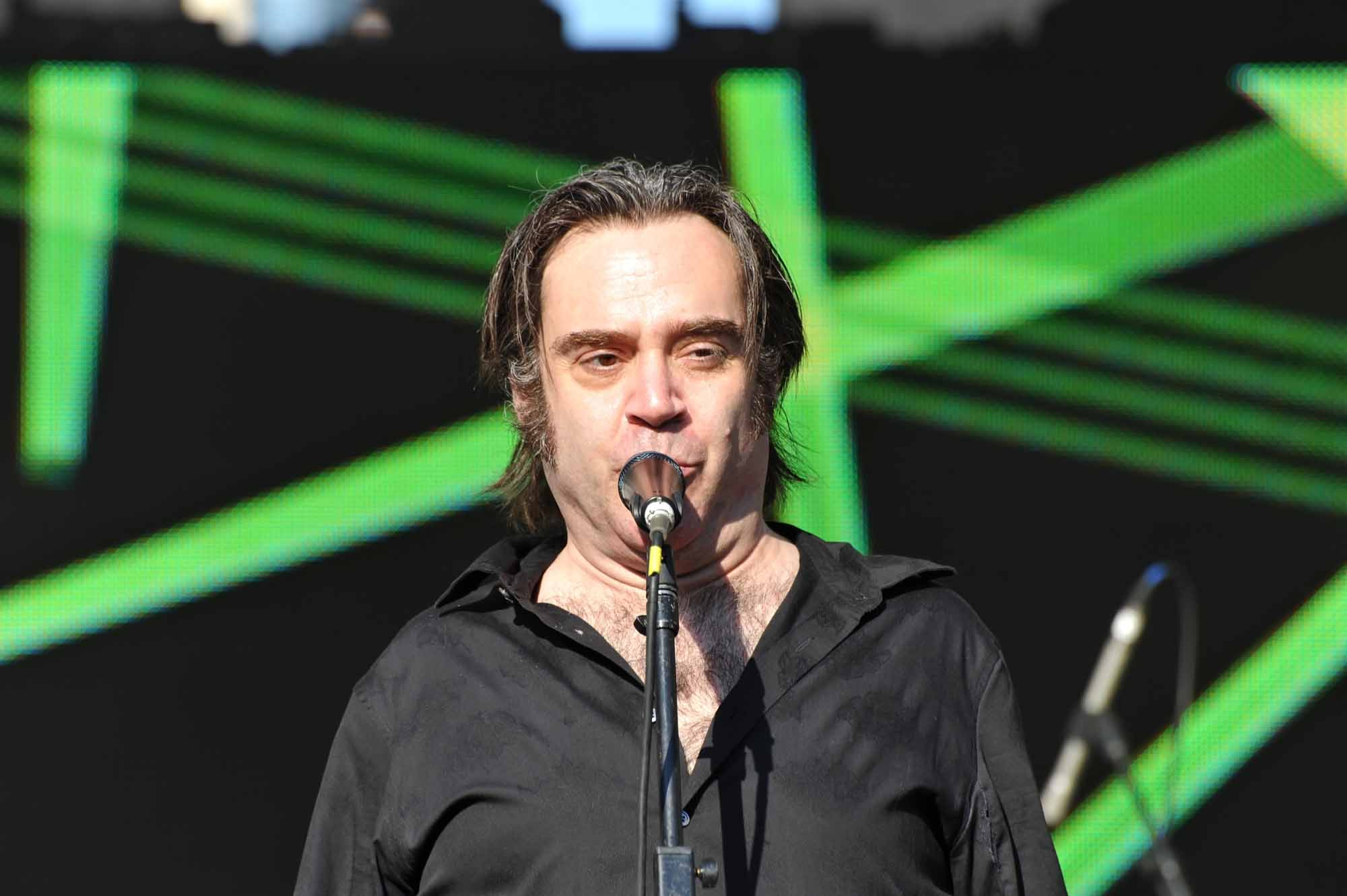 Brad Roberts of The Crash Test Dummies