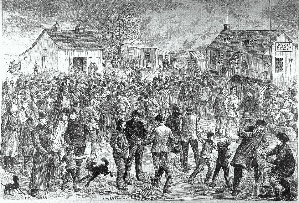 Lachine canal strike