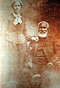 Nancy and Josiah Henson.