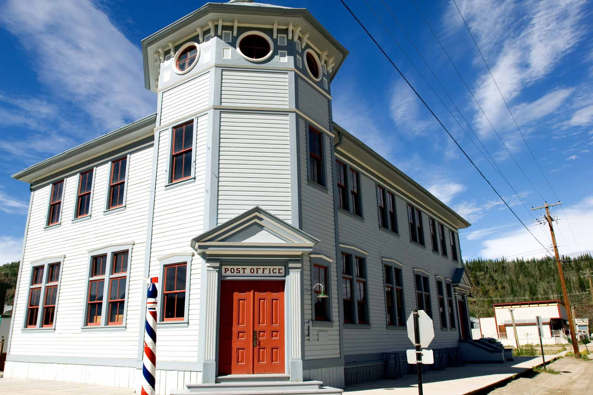 Dawson City post office