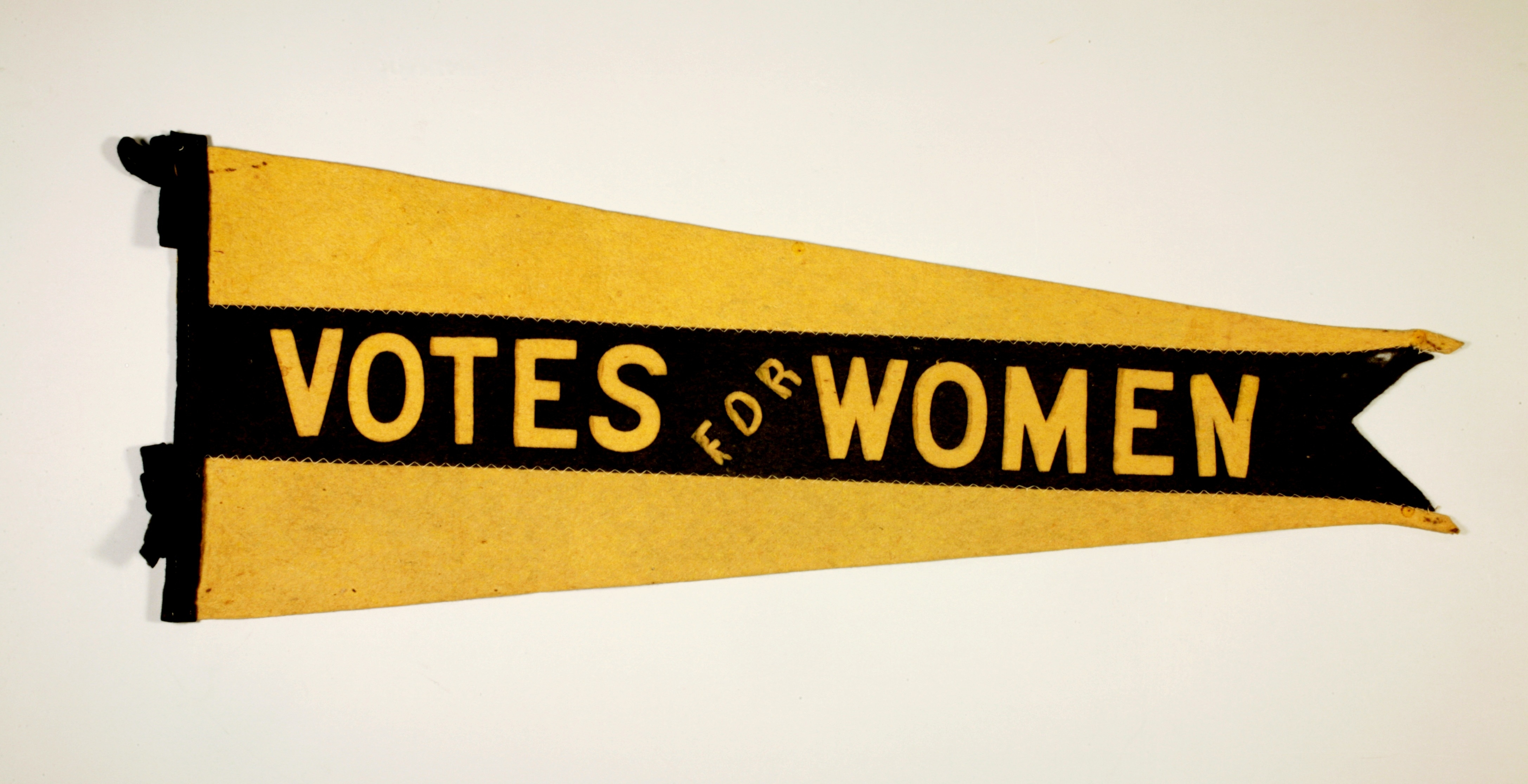 """Votes for Women"" pennant"