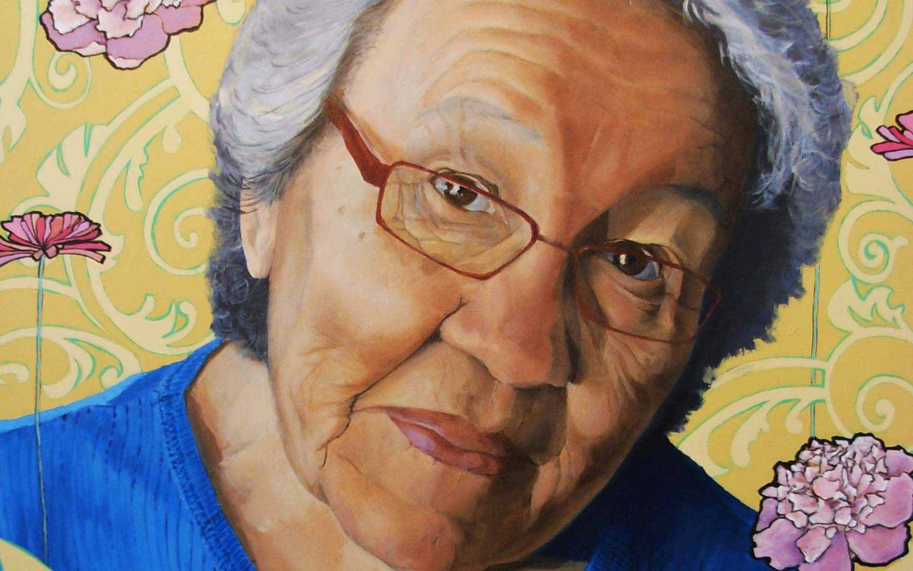 """Grandma"" par Catherine Blackburn."