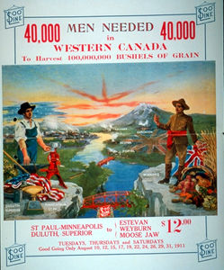 Poster Advertising for Farm Labour