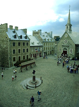 Place Royale Reconstruction