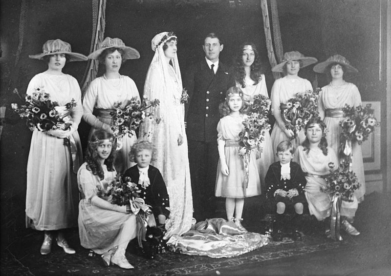 Princess Patricia Wedding Party
