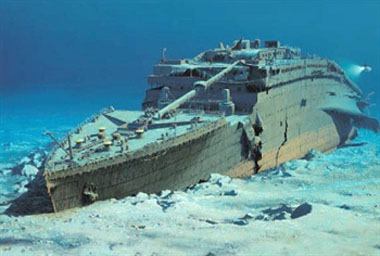 Wreckage of the RMS <i>Titanic</i>