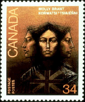 Mary (Molly) Brant, Indigenous advocate