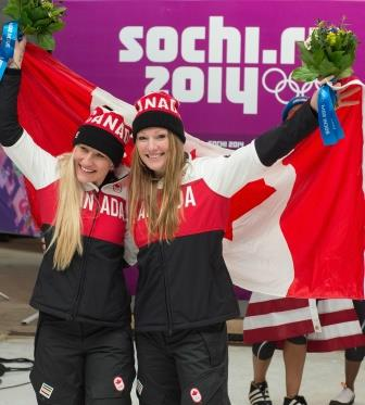 Humphries and Moyse Defend Gold Medal, Sochi 2014