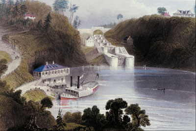 Building the Rideau Canal