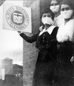 Nurses during the Spanish Flu
