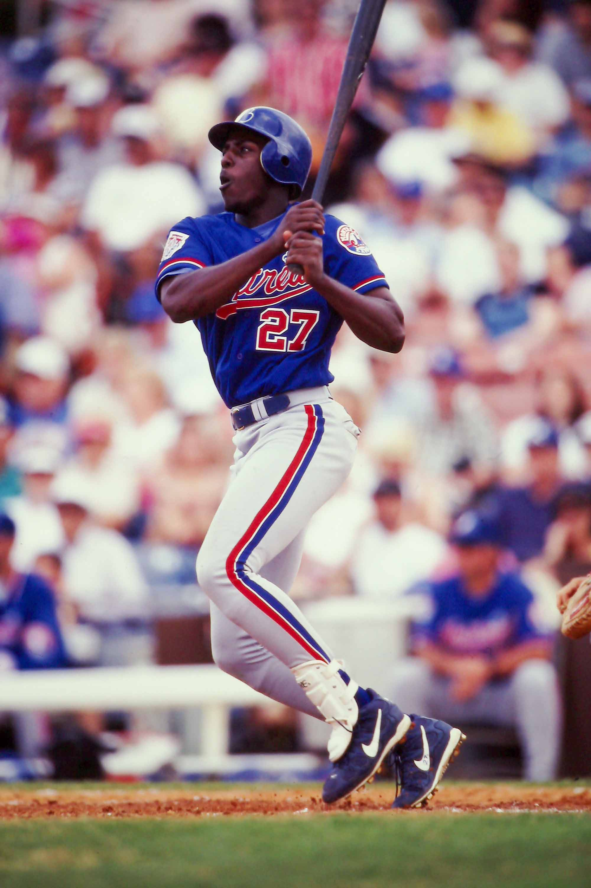 Vladimir Guerrero of the Montreal Expos