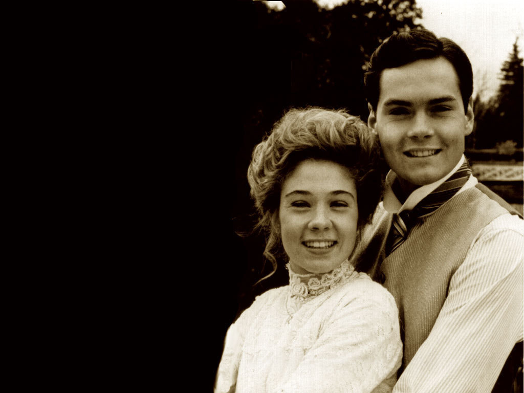 Megan Follows and Jonathan Crombie
