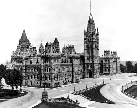 Parliament Buidings, Centre Block