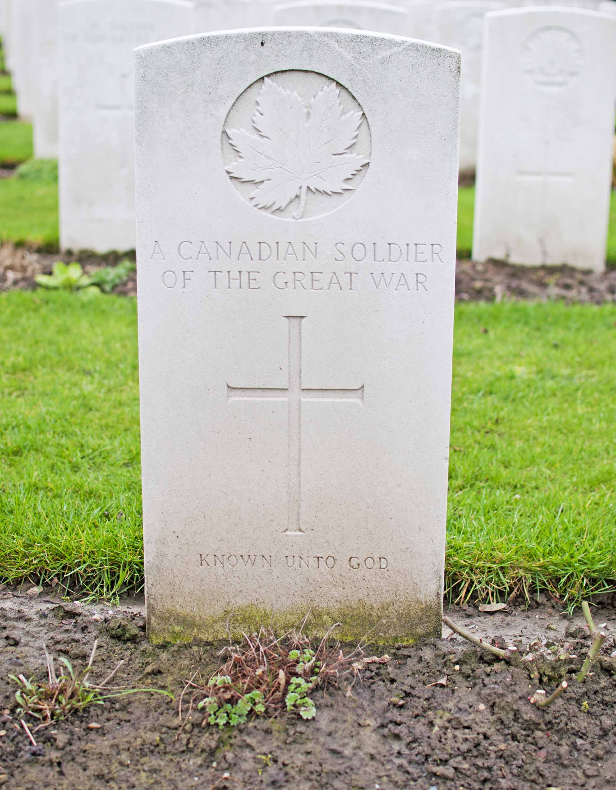 Grave of an Unknown Canadian Soldier