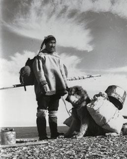 Inuk and Pack Dog