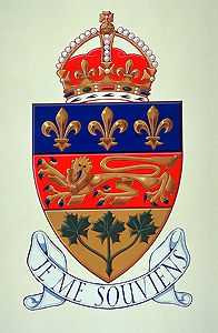 Québec Coat of Arms