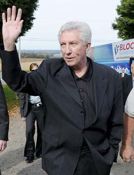 Gilles Duceppe, politician