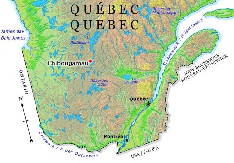 Chibougamau l 39 encyclop die canadienne for National rimouski