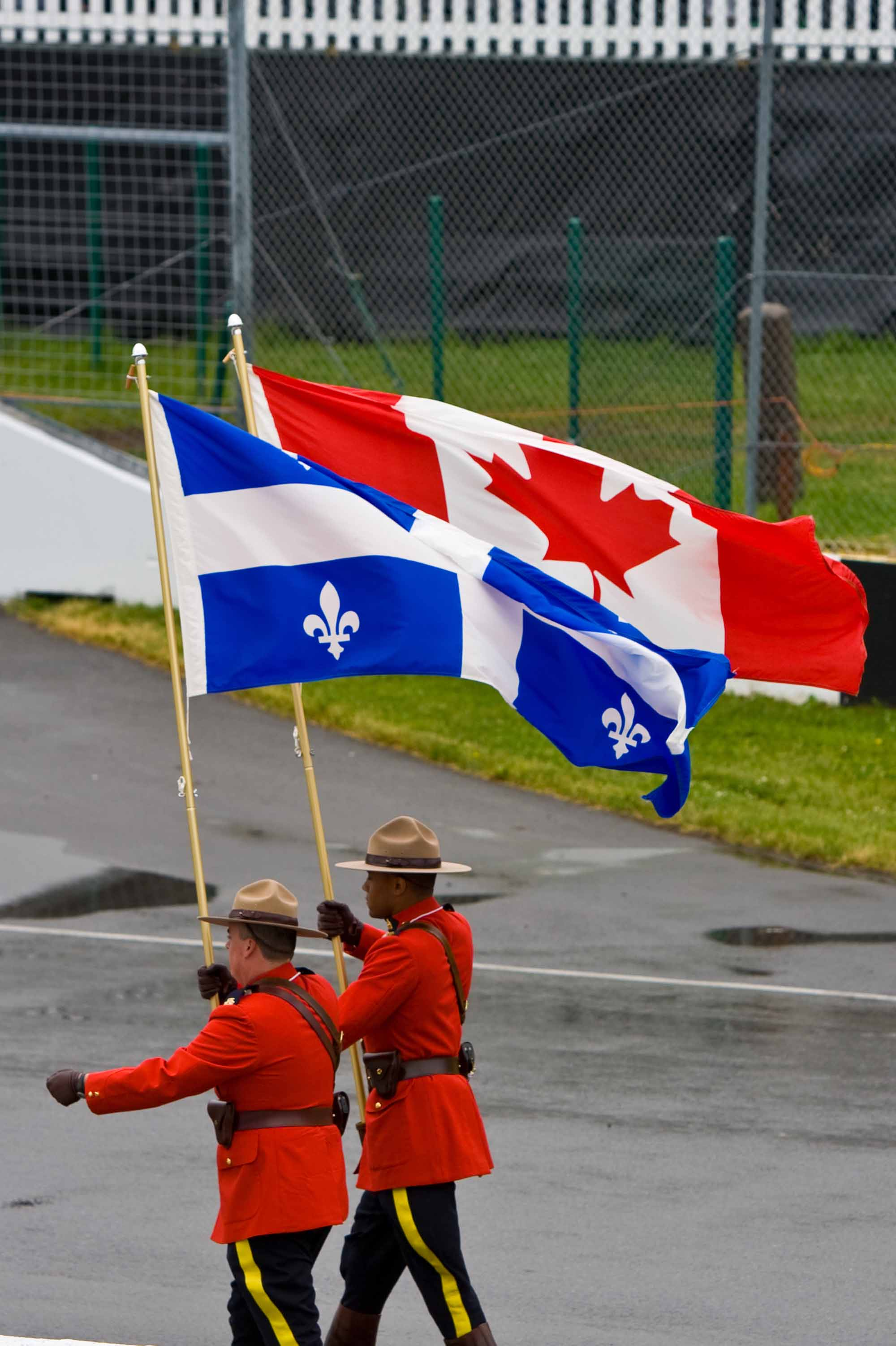 Mounties at Montreal Grand prix