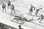 Canada in hockey action 1936