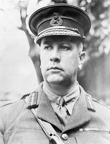 General Sir Arthur Currie, June, 1917.