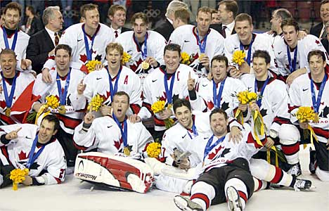 Olympic Hockey Team 2002