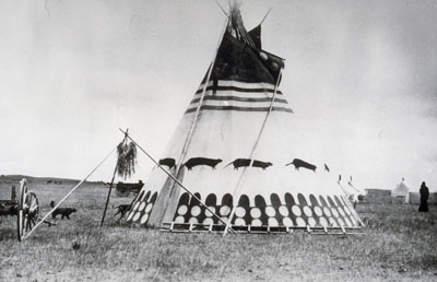 Tipi siksika (Pieds-Noirs)