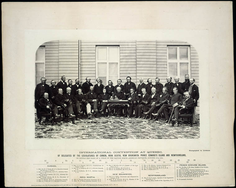 Delegates at the Québec Conference