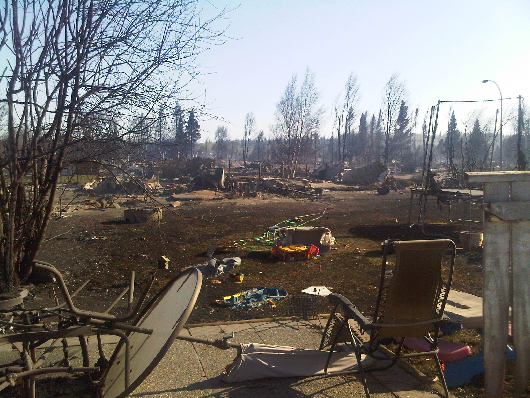 Slave Lake Forest Fire
