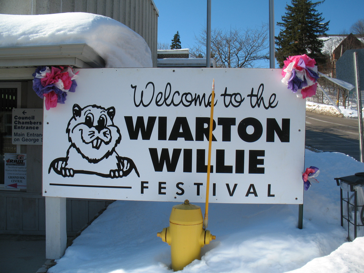 Festival Wiarton Willie