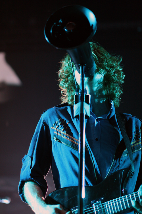 Arcade Fire performing in Columbia, MD in 2010.