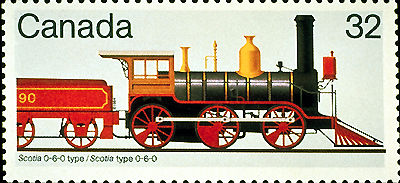 Locomotive de type Scotia 0-6-0