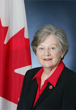 Maria Chaput, member of the Canadian Senate