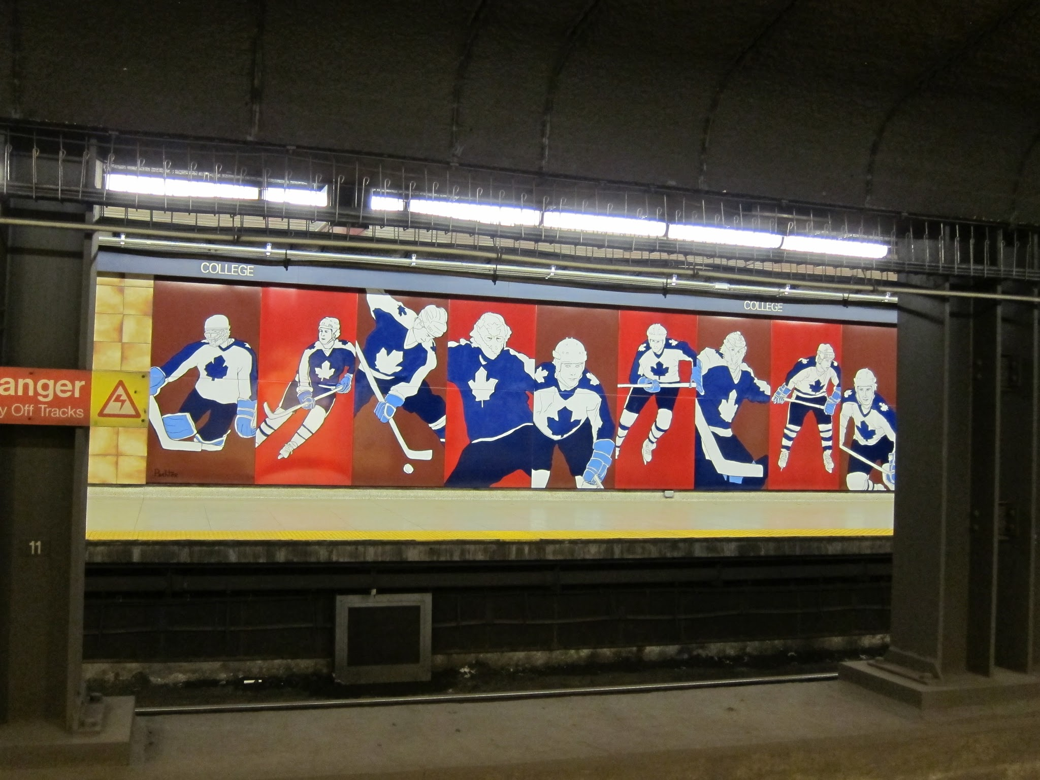 """Hockey Knights in Canada,"" Toronto Subway"