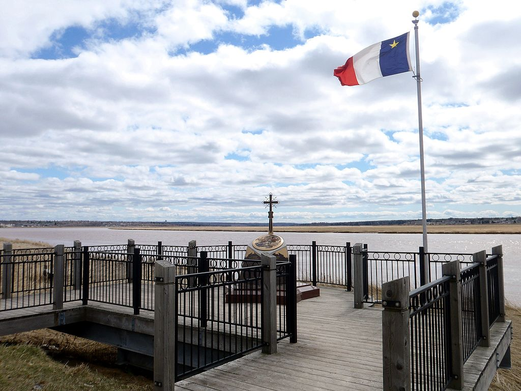 Acadian Memorial in Moncton, New Brunswick