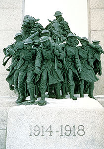 National War Memorial Sculpture