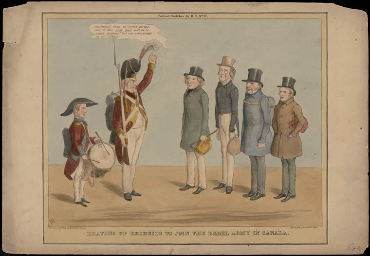 The American Response to the Canadian Rebellions of 1837–38