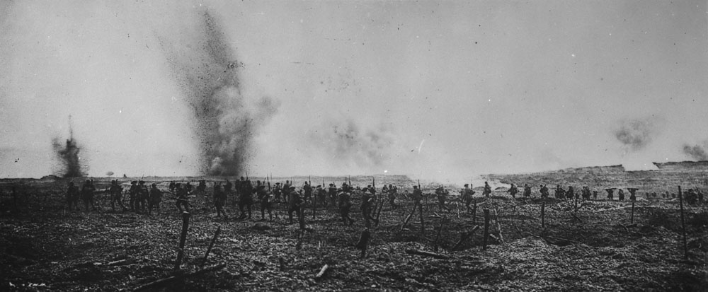 battle of vimy ridge the canadian encyclopedia canadian iers at vimy in german wire entanglements