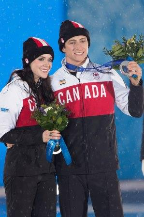 Tessa Virtue and Scott Moir, Sochi 2014