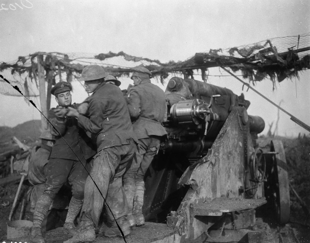 Howitzer-Battle of Somme