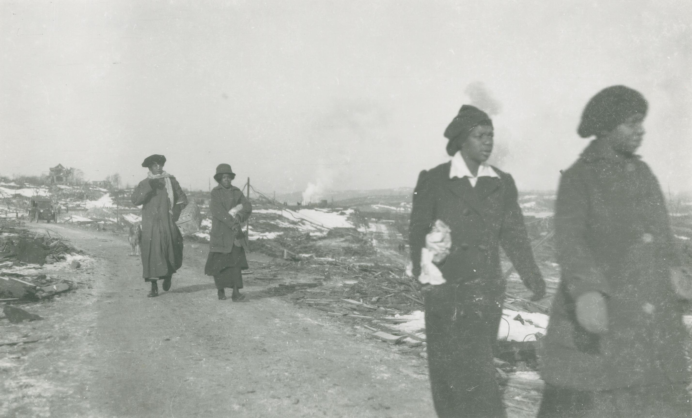 People on the Margins of the Halifax Explosion