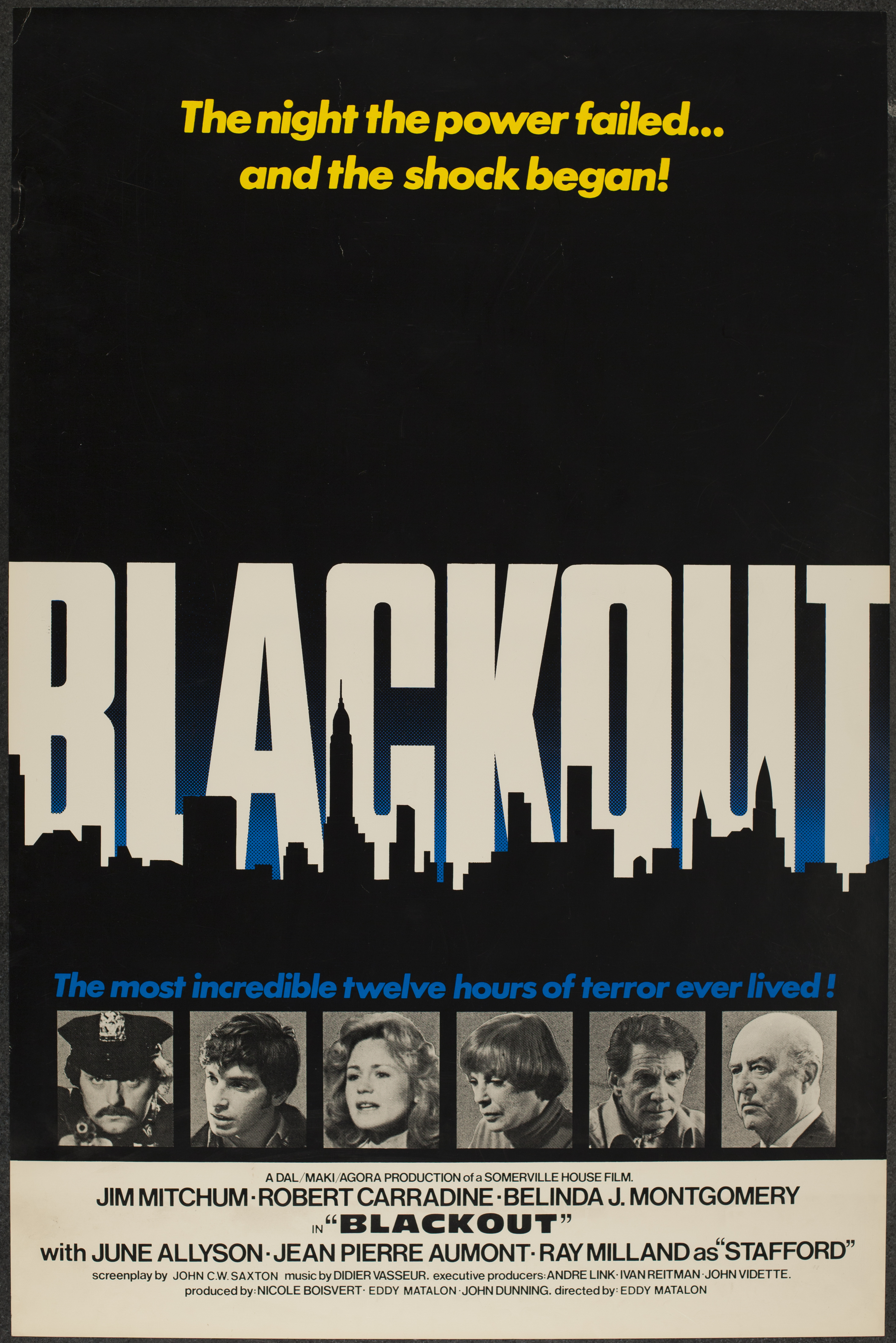 International cinema clips website 01 11 - Emblematic Of The Generic Ineptitude Of Many Tax Shelter Films Blackout 1978 About New York City Thugs On A Rampage During A Power Failure