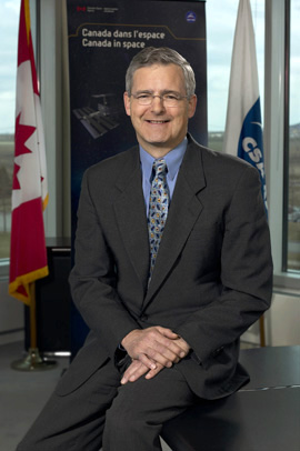 Marc Garneau, Canadian Space Agency President